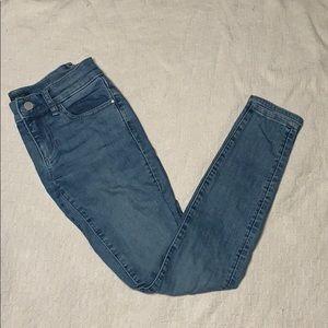 Ann Taylor modern cut skinny jeans